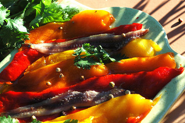 Marinated peppers « home-cooked & marinated trio of peppers »
