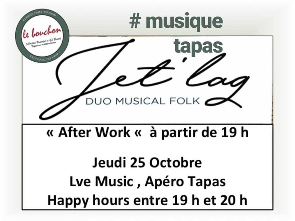 Jet'lag apéro tapas Le Bouchon Aiguèze restaurant Ardèche